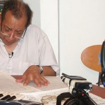 Blas Emilio Atehortua composed in front of the camera (Photo: Grupo Interdís)