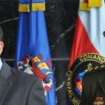 Juan Carlos Pinzon (L) and Rodolfo Palomino (Photo: Defense Ministry)