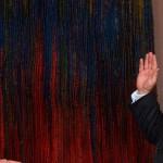 Juan Manuel Santos (L) and Luis Carlos Villegas (Photo: President's Office)