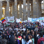Colombia student protests