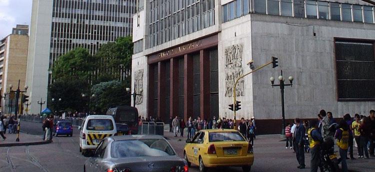 The central bank's main office in Bogota (Photo: Siete Dias)