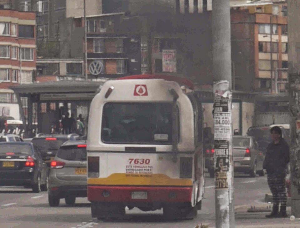 bus polluting