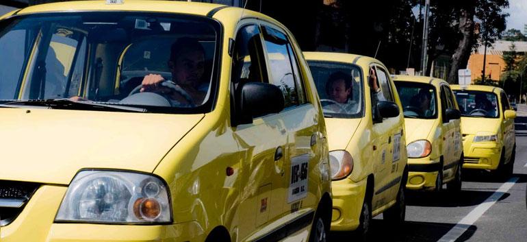 Bogota taxis