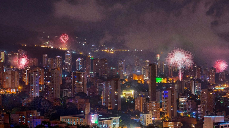 Fireworks go off in Medellin every December 1, the birthday of Pablo Escobar. What began as a celebration of Escobar's heir's control over the city has strangely become part of the Christmas ritual.