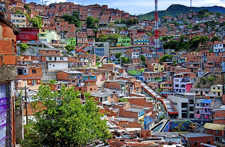 Favela in Medellin
