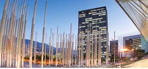 Plaza de las luces—Medellin