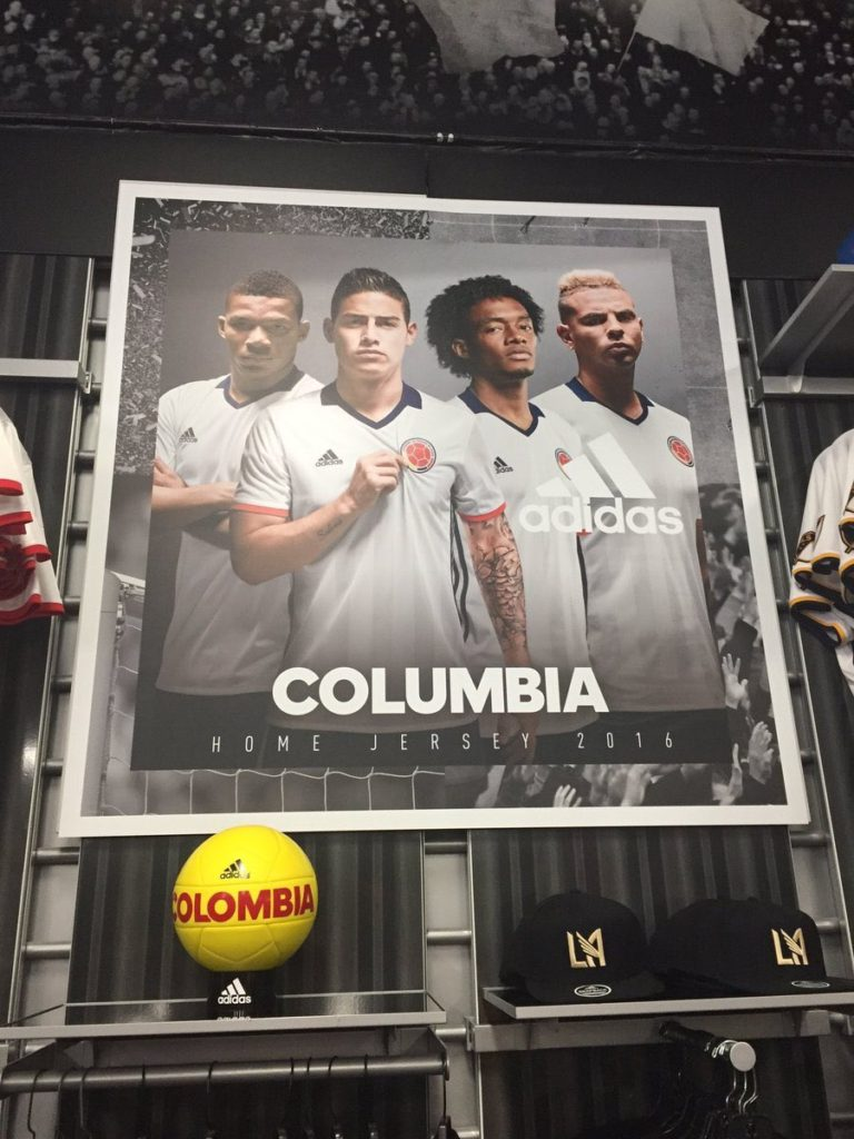 "Adidas apologize for ""Colombia"" spelling mistake #ItsColombiaNotColumbia"