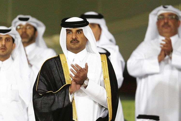 Sheik Tamim bin Hamad al-Thani is Qatar's Emir