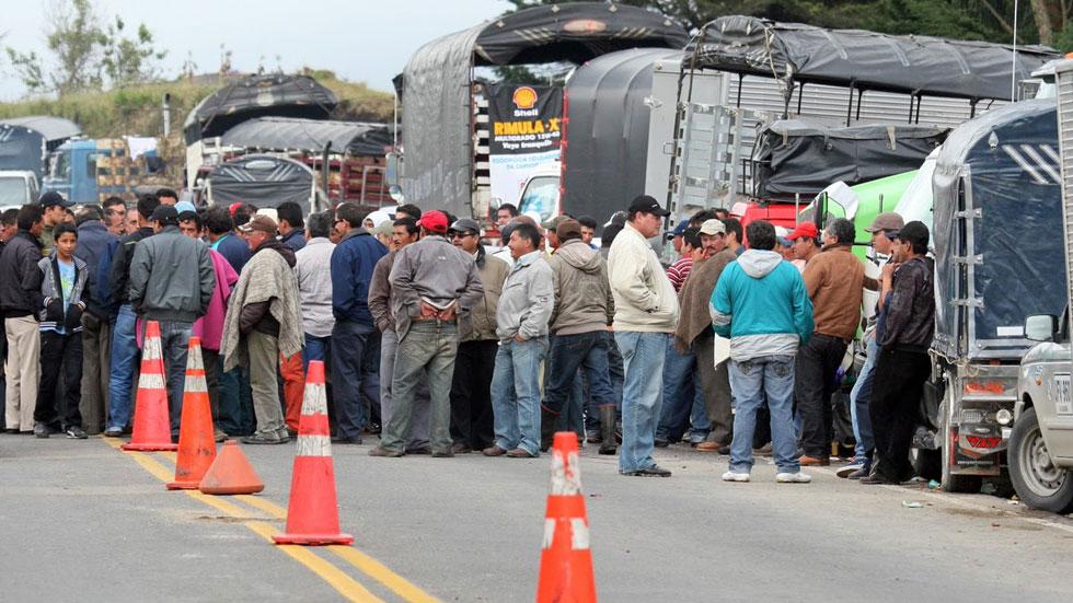 colombia-truckers-strike