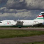 An Avro RJ85 operated by Lamia which crashed on approach to Medellin while carrying 81 passengers and crew including Brazilian football team Chapecoense is seen in a file picture